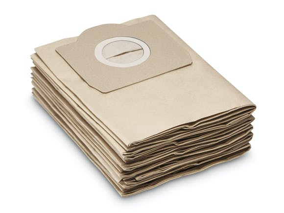 Karcher WD3 Paper Vacuum Bags 5pack