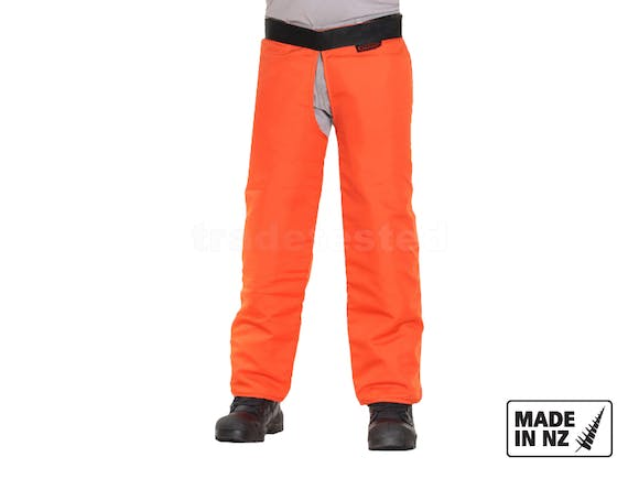 Clogger Chainsaw Chaps C8 Zipped - Small