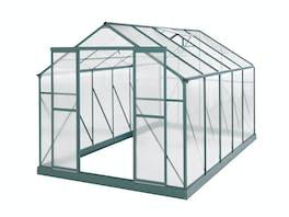 Evergreen Greenhouse 12 x 8ft Green