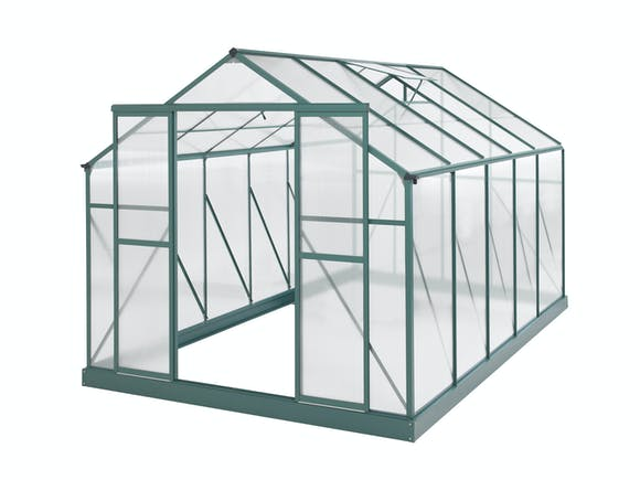 Greenhouse 12 x 8ft Green