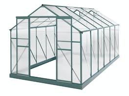 Evergreen Greenhouse 14 x 8ft Green