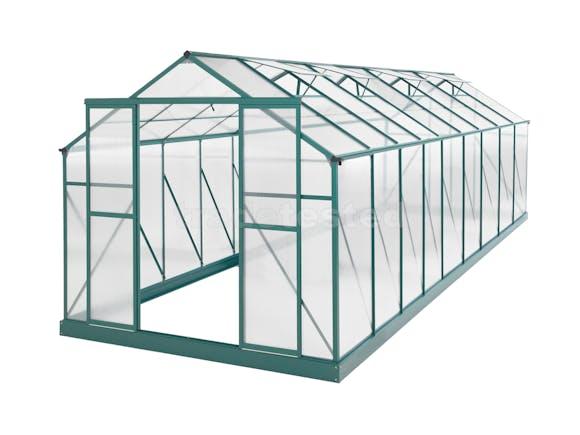 Greenhouse 20 x 8ft Green