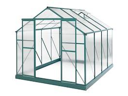 Evergreen Greenhouse 10 x 8ft Green