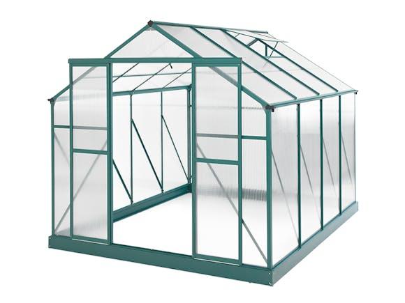 Greenhouse 10 x 8ft Green