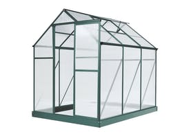Evergreen Greenhouse 6 x 8ft Green