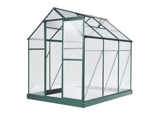 Greenhouse 6 x 8ft Green