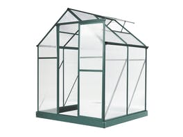 Evergreen Greenhouse 6 x 4ft Green