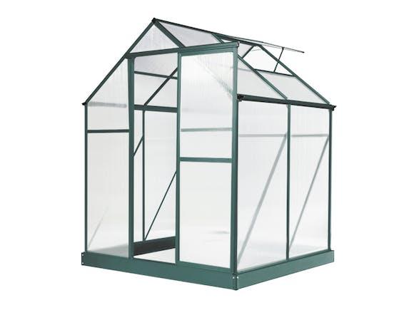 Greenhouse 6 x 4ft Green