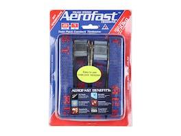 Aerofast Camlock Tiedowns 25mm x 4m - Twin Pack