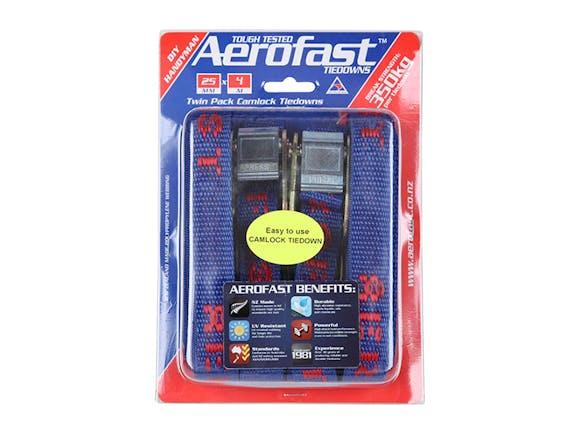 Aerofast Camlock Tiedowns 25mm x 4m