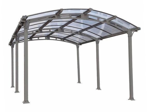 palram carport arcadia 5000 3m x 6m carports sheds. Black Bedroom Furniture Sets. Home Design Ideas