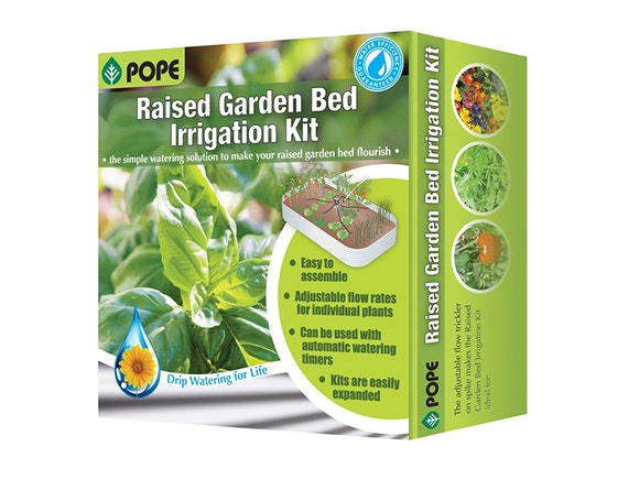 Pope Raised Garden Bed Irrigation Kit