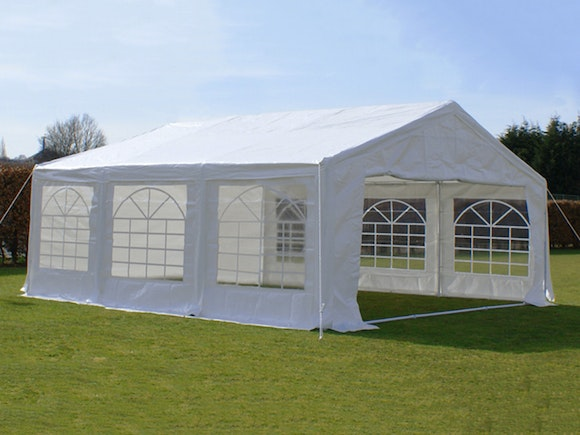 Great White Marquee 6m x 6m Economy