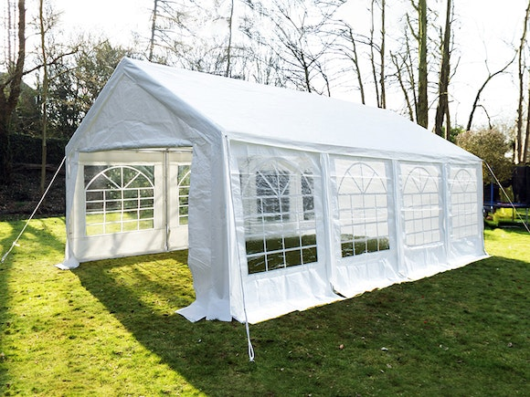 Great White Marquee 4m x 8m Economy