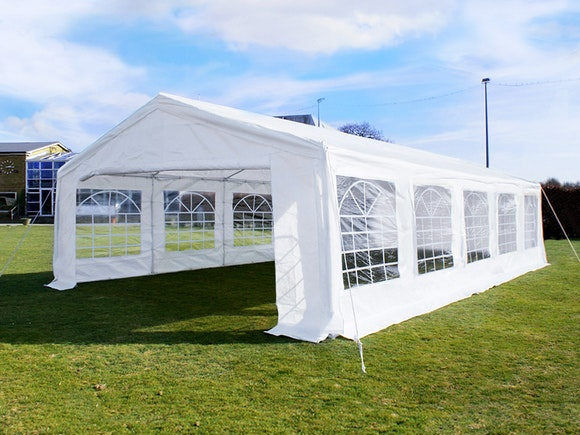 Great White Marquee 5m x 10m Economy
