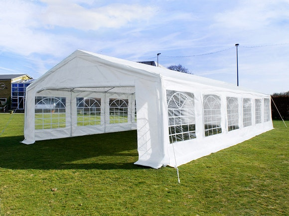 Great White Marquee 6m x 12m Economy