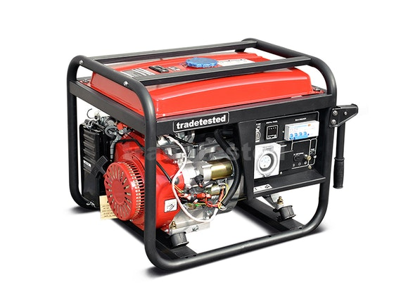 Petrol Generator 6600W 3 Phase with Electric Start