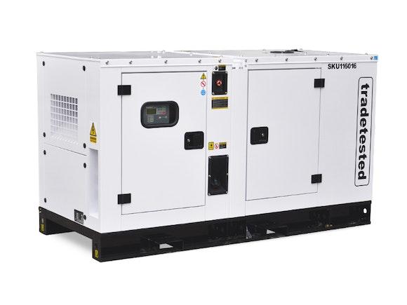 Diesel Silent Industrial Generator 28kVA