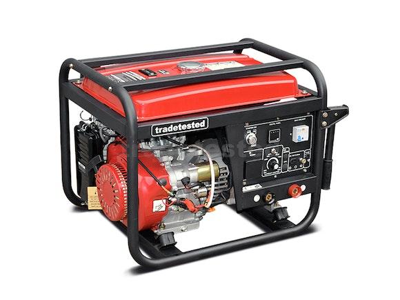 Welder Generator Petrol 190A + 2200W with Electric Start