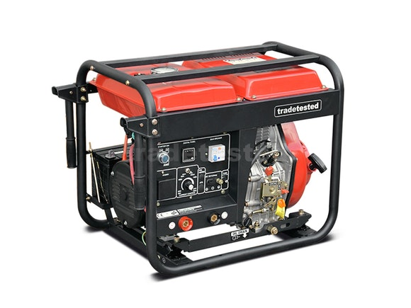 Welder Generator Diesel 190A + 2200W with Electric Start