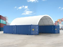 Container Shelter 12.2m x 8.1m x 3m