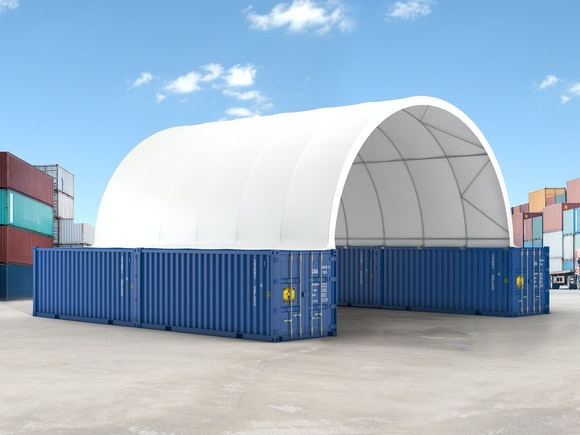 Container Shelter 12.2m x 9.98m x 5m