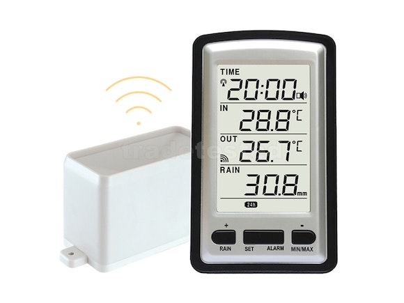 Wireless Weather Station & Rain Gauge