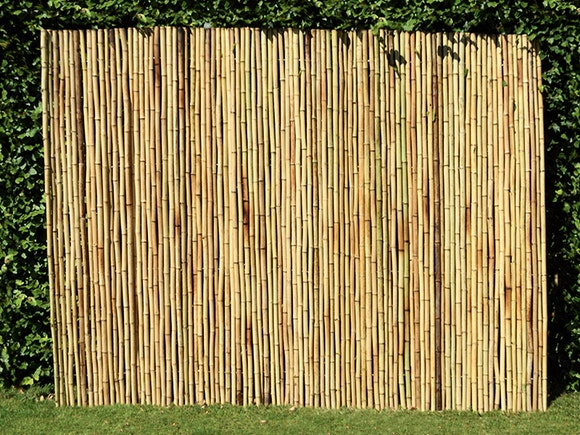 Bamboo Privacy Screen Fencing 2.4m x 1.8m Natural