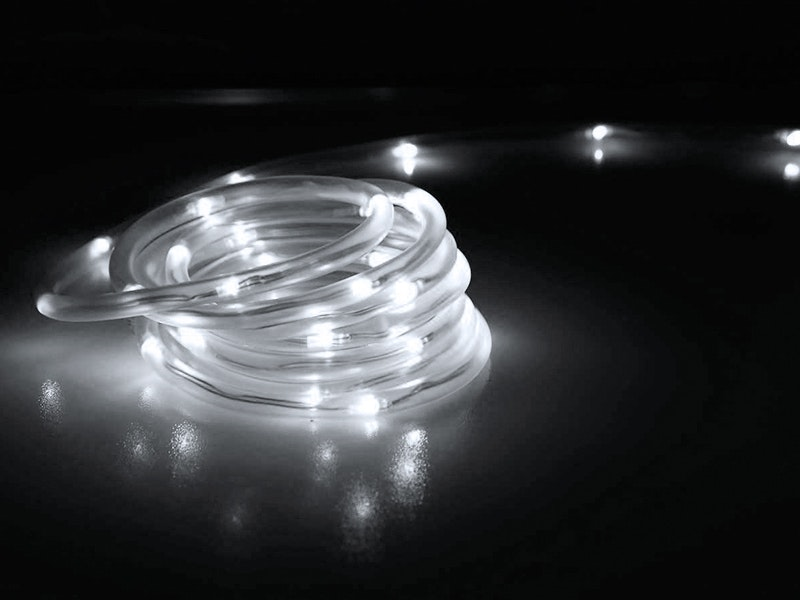 Solar Rope Lights 200 LED 10m Cool White