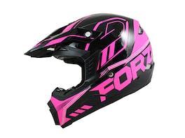 Nikko N600F Youth Motocross Helmet Pink 53-54cm