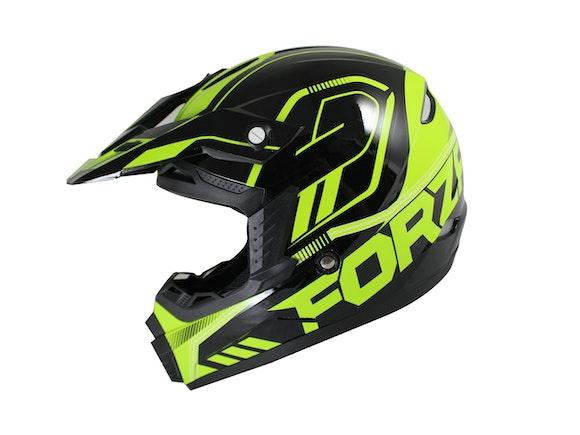 Nikko N600F Youth Motocross Helmet Green 51-52cm