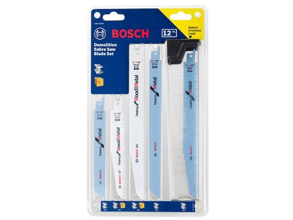 Bosch Blade Sabre Saw 12 Piece