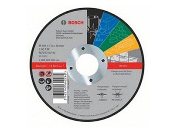 Bosch Cut-off Disc MP 105 x 16 x 1mm