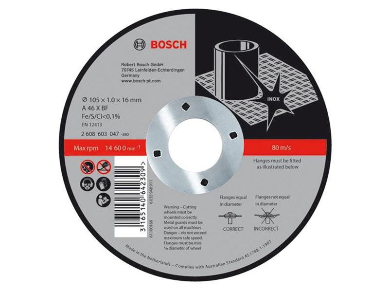 Bosch Metal Cut-off Disc Inox 125 x 22.2 x 1mm