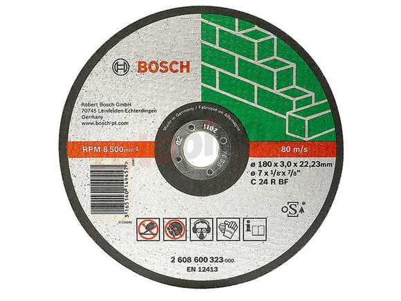 Bosch Masonry Cut-off Disc 115 x 22.2 x 3.2mm