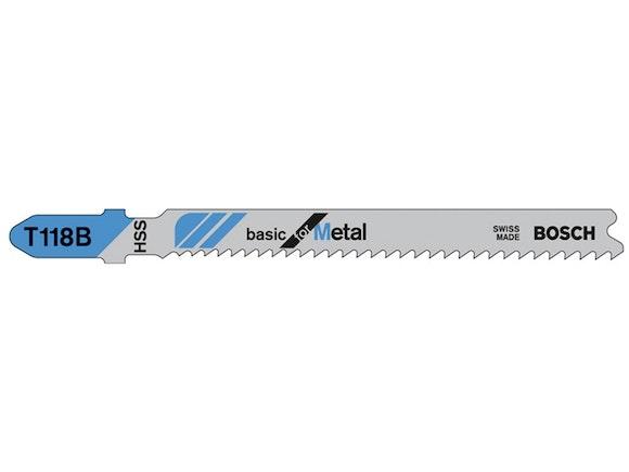 Bosch Blade Jigsaw Metal 92mm 11-14 TPI 5 Pack