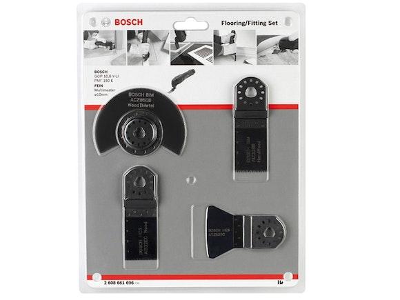 Bosch Multi-tool Accessory Set 4 Piece