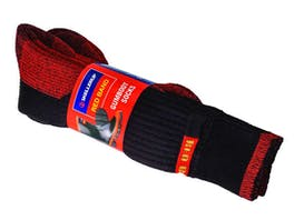 Red Band Gumboot Socks 2-Pack Adult/Youth