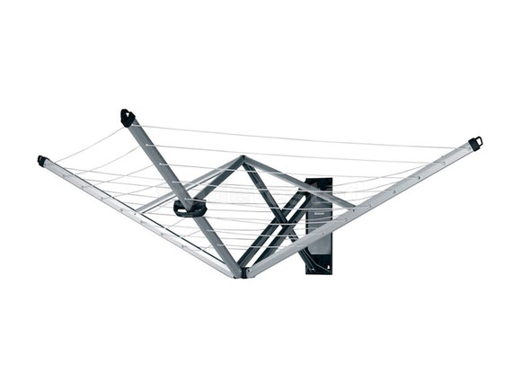 Brabantia WallFix Wall–Mounted Clothesline 24m