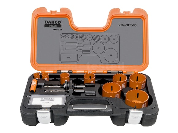 Bahco Professional 12 Piece Holesaw Set