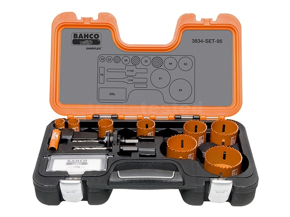 Bahco Professional 12 Piece Holesaw Set