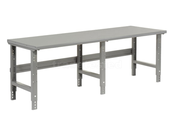 Workbench Steel Top 244 x 76cm