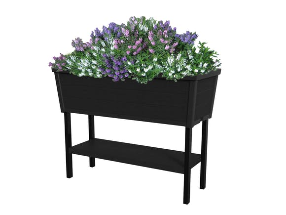 Keter Alfresco Raised Planter Bed 105L Charcoal