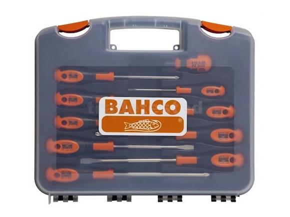 Bahco Screwdriver Set 10 Piece