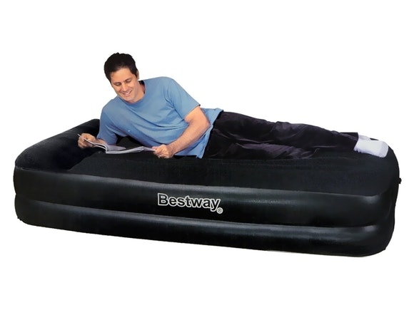 Bestway Air Bed Premium+ Single with Built-In Pump