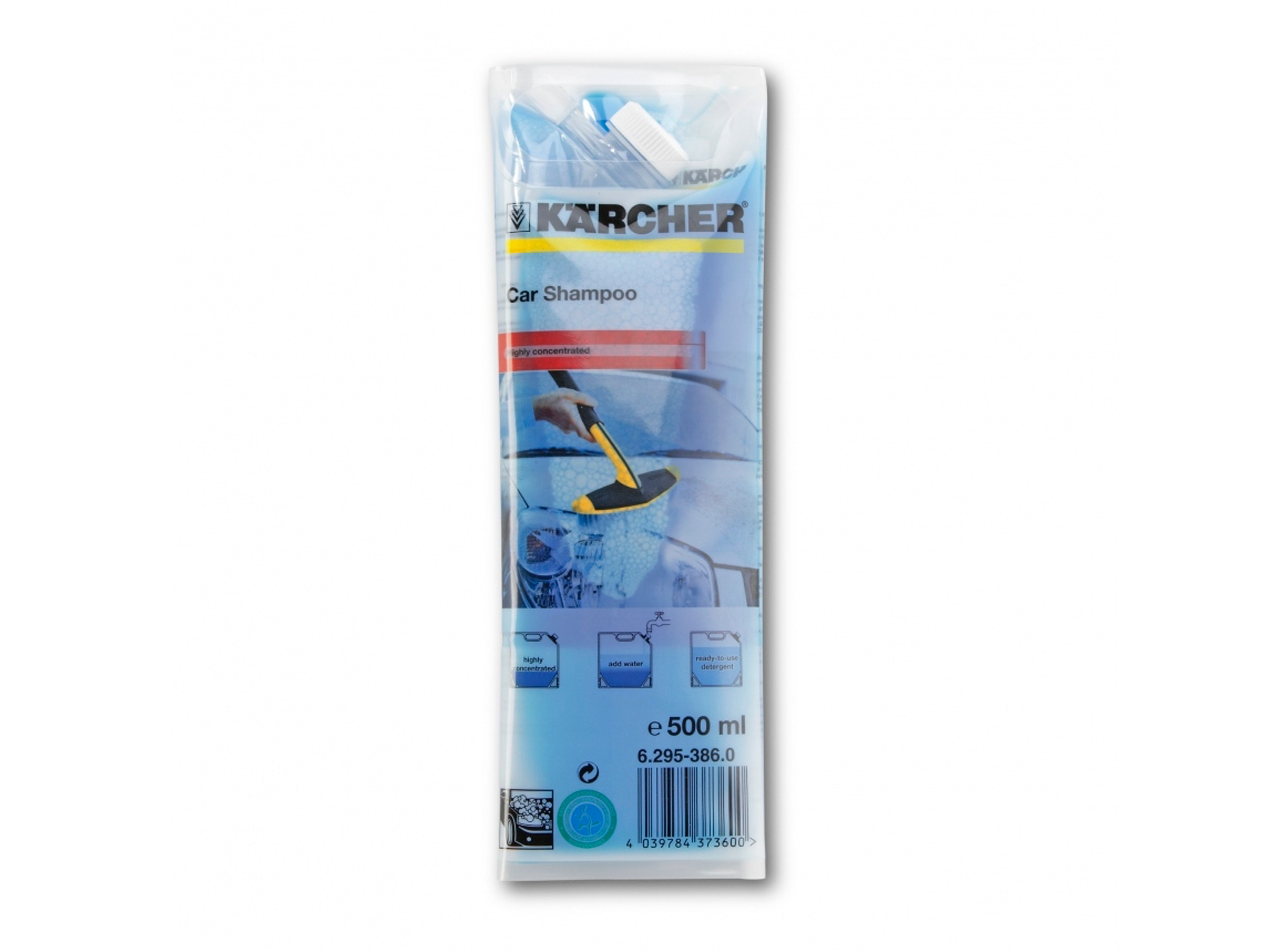 Karcher Car Shampoo Pouch 500ml