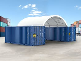 Container Shelter 6.0m x 6.1m x 1.8m
