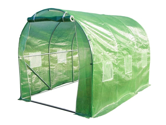 Evergreen Tunnel House Greenhouse 2m x 3m