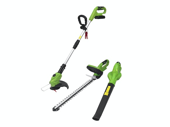Cordless Power Garden Combo Set 18V Li-ion