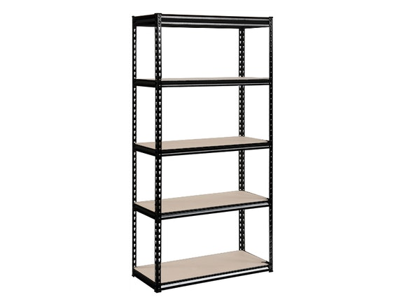 Steel Shelves 5-Shelf 182cm x 91cm x 46cm